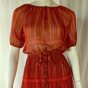 Dresses & Skirts - 1960 made in Paris silk dress